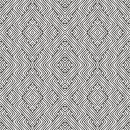 japanese motif: Metal Seamless Pattern