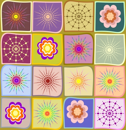 kaleidoscope: Seamless abstract pattern for a fabric, papers, tiles