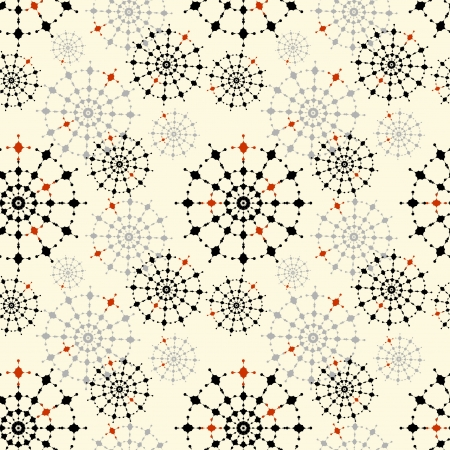 kaleidoscope: Seamless abstract pattern for a fabric, papers, tiles  Illustration