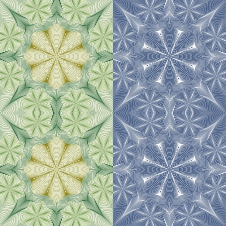 Seamless pattern for a fabric, papers, tiles