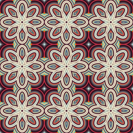 Seamless pattern for a fabric, papers, tiles Stock Vector - 15056305