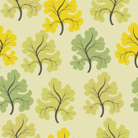 A seamless pattern with leaf,autumn leaf background Stock Vector - 16259296