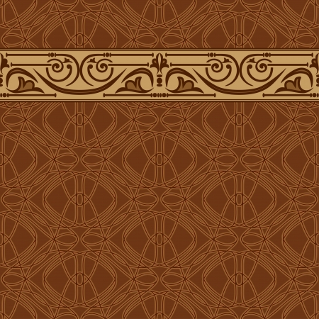 arabic motif: seamless wallpaper Illustration