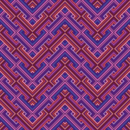 Abstract Ethnic Seamless Geometric Pattern  Vector Illustration Vector
