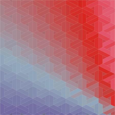 Retro pattern of geometric shapes  Colorful mosaic backdrop