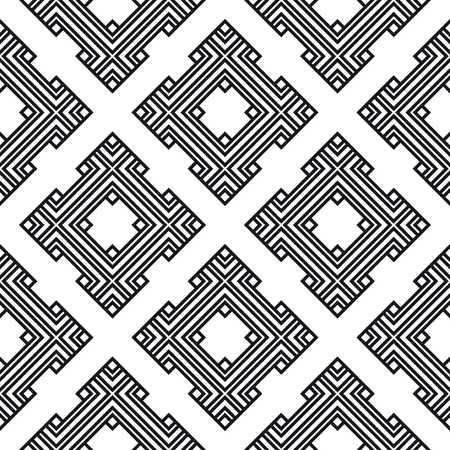 An elegant black and white pattern