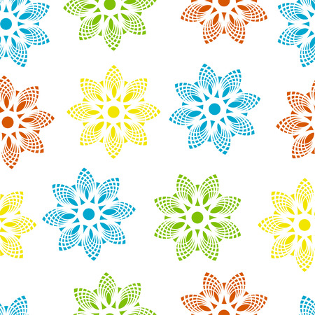 loral pattern seamless