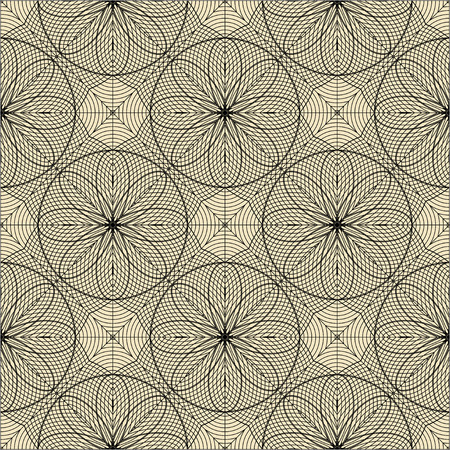 Engineering draft seamless pattern. Vector