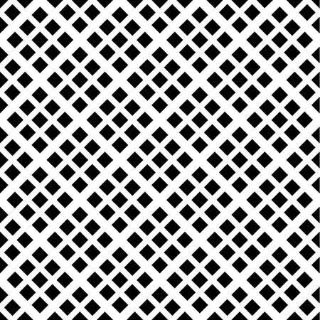 Abstracte geometrische naadloze patroon. Zwart-wit stijl patroon met ruit en lijnen. Stock Illustratie