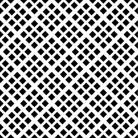 Abstract geometric seamless pattern. Black and white style pattern with rhombus and lines.