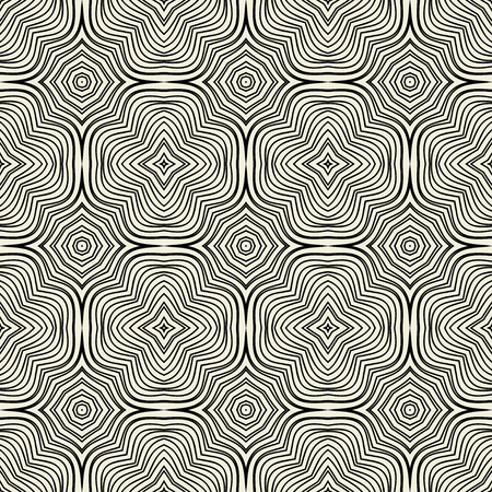Vector seamless pattern. Modern stylish texture. Repeating geometric