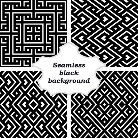 cor: Set of ornamental patterns for backgrounds and textures