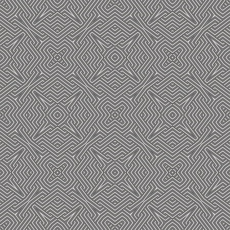 Abstract metallic background geometric seamless pattern.