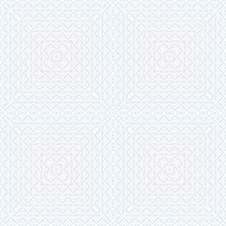Seamless pattern of wavy lines for certificates and other forms