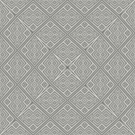 Abstract elements geometric textured background. Seamless pattern.