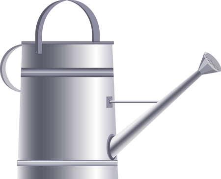 water can for garden vector illustration 矢量图像