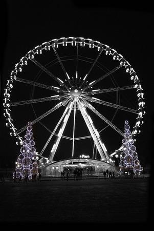 Ferris Wheel near Place de la Concorde in Paris - France photo