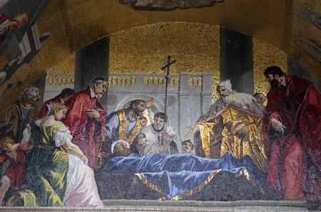 st  mark s: Mosaico in piazza San Marco a Venezia s
