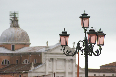 st  mark s: Lanterna veneziana in piazza San Marco a Venezia s Archivio Fotografico