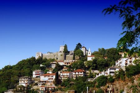 bollard: Ancient Illyrian and and Roman Fortress Trsat in Rijeka