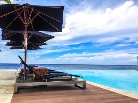 pool in the caribe
