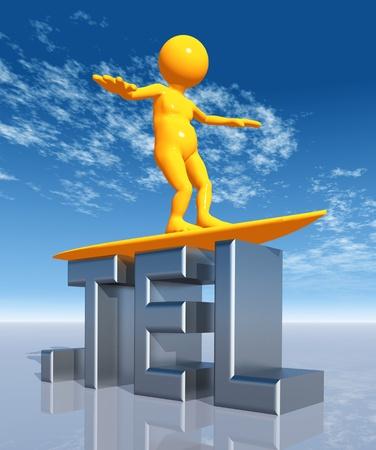 TEL Top Level Domain Stock Photo - 10750882