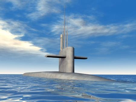 Modern Submarine