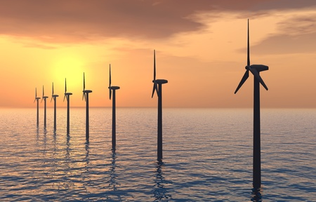 wind energy: Offshore Wind Farm