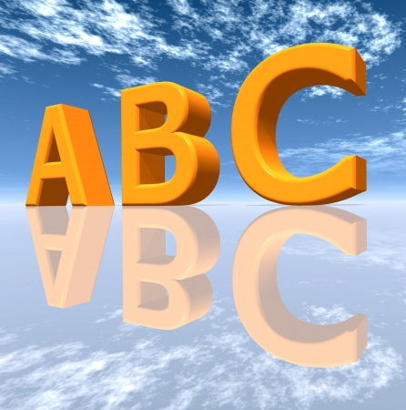 language school: ABC Stock Photo