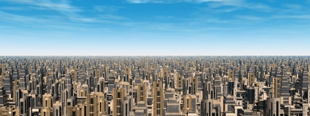 overpopulation: Mega City