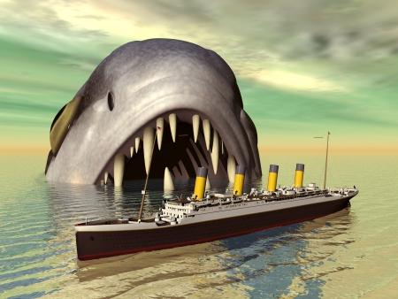 hugely: Big Fish with Ocean Liner