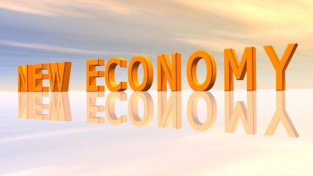 New Economy Stock Photo - 16500817
