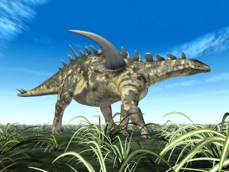 hugely: Dinosaur Gigantspinosaurus