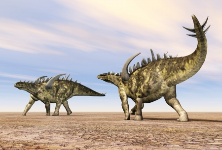 enormously: Dinosaur Gigantspinosaurus