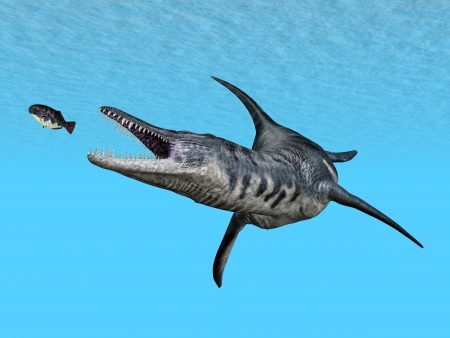 monstrosities: Liopleurodon While Hunting