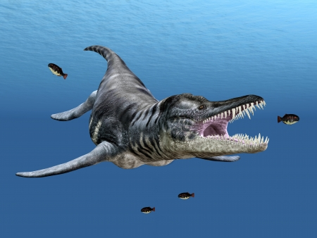 hugely: Liopleurodon While Hunting