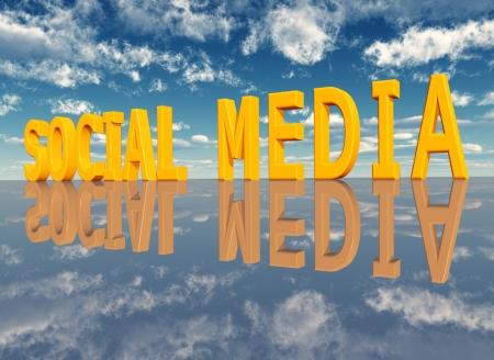 Social Media Stock Photo - 17041471