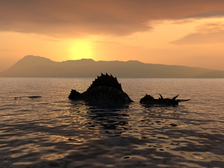 The Loch Ness Monster photo