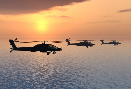 Apache Helicopters photo
