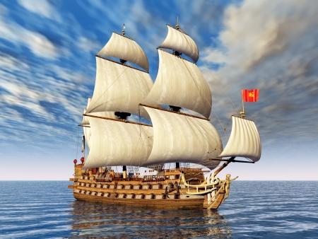 Sailing Ship Stock Photo - 17451137