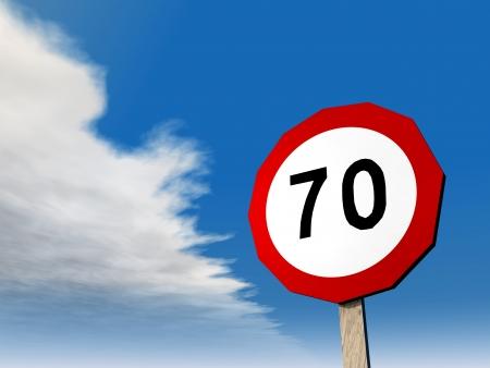 slowly: Speed Limit 70