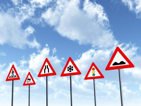 signalering: Verkeersborden
