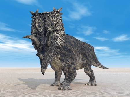 Pentaceratops dinosaurio photo