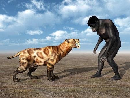 hombre prehistorico: Homo Habilis - Evolución Humana