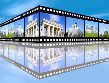 impressions: Berlin Impressions on film strip