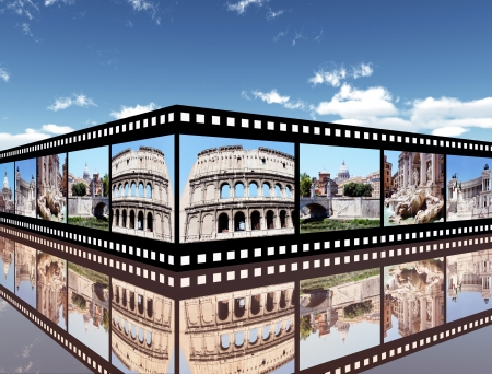 impressions: Rome Impressions Stock Photo