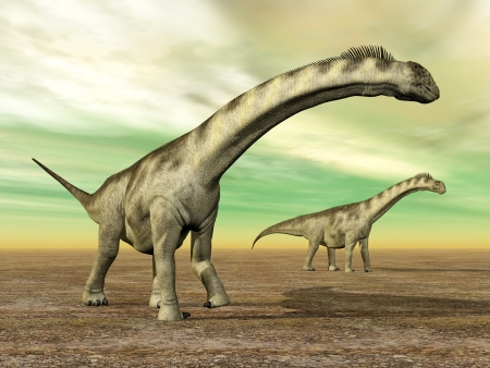 hugely: Dinosaur Camarasaurus