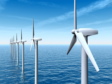 Offshore Wind Farm photo