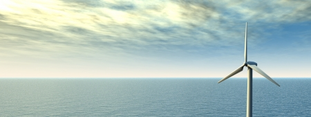 Offshore Wind Farm photo