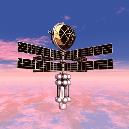 probe: Earth Atmosphere with Space Probe